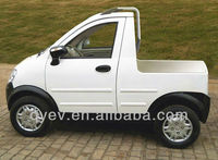 China Cheap 2 seater Electric mini delivery car pickup truck for sale