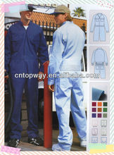 Plain cotton workwear coverall