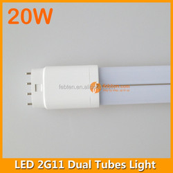 Internal driver 20W 2G11 double sided led light