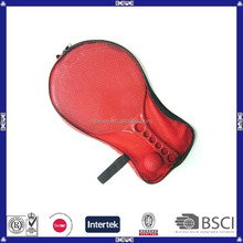 Custom red plastic beach racket with packing