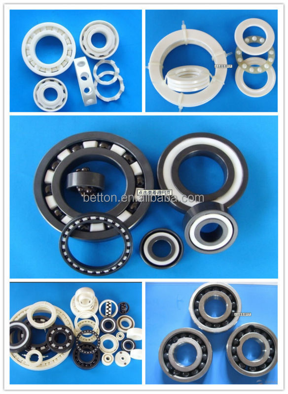 New 6001CE 6001 use skateboard full Zro2 ceramic bearing