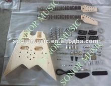 DIY Electric Guitar Kits/Double Neck Electric Guitar Kit