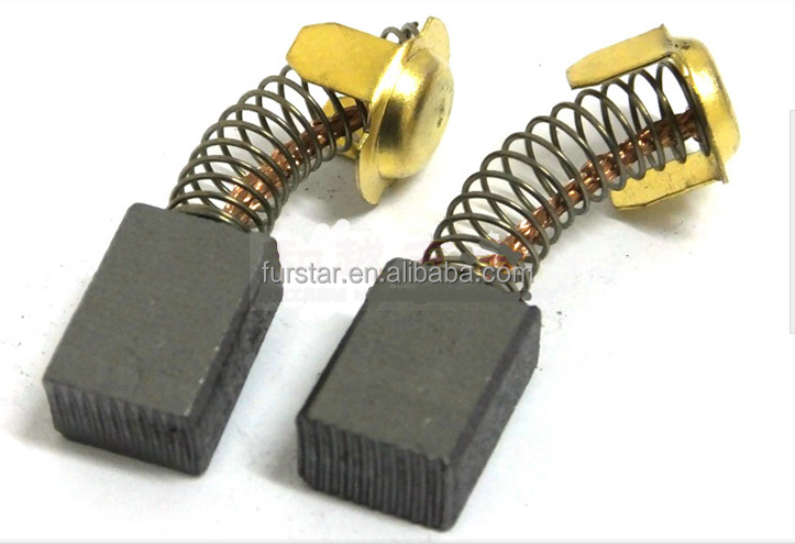 High quality dc motor carbon brush for power tools for Carbon motor brushes suppliers