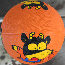 Low price unique nice looking size 1 rubber basketball