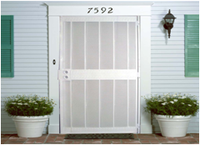 Professional security gates without fading