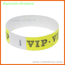 Compond Waterproof Tyvek Wristbands