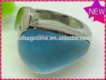 nueva llegada de moda de la joyería de hierro anillo con mancuernas