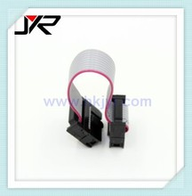 2.54mm 28awg flat IDC ribbon cable connector 1 2 3 4 5 6 7 8 9 10 11 12 13 14 15 16 17 18 19 20 21 22 23 24 25 26 27 28 29 30pin