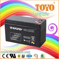 toyo 12v ups battery for emergency light battery 12v 7Ah Lead Acid Battery
