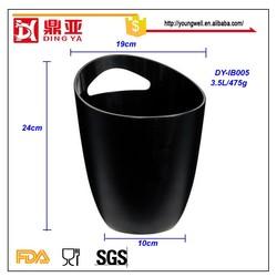 Barware High Standard FDA Silicone Custom Ice Bucket/ice bucket plastic
