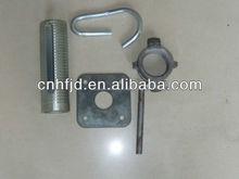 Diferentes tipo de andamios de acero apoyo partes( fábrica)