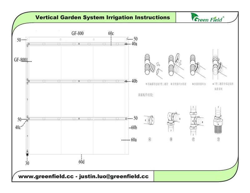 Ordinaire ... Modular Garden Green Wall Irrigation System (2) ...