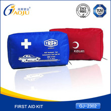 With 16 years manufacture experience universal hot selling car roadside emergency first aid kits