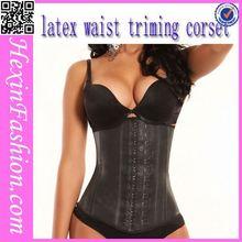 Pure Black Natural Latex Wholesale Perfect Body Shaper