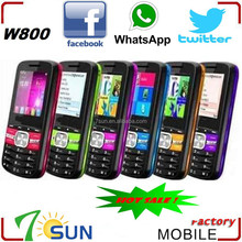 best selling products W800 low price china mobile phone