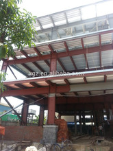 steel frame structure prefabricated apartments building