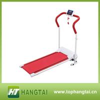 Popular fitness equipment manual treadmill