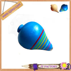Wholesale wooden spinning top toy