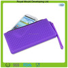 Fashion mini mobile phone packages waterproof silicone hand bag,silicone handbag