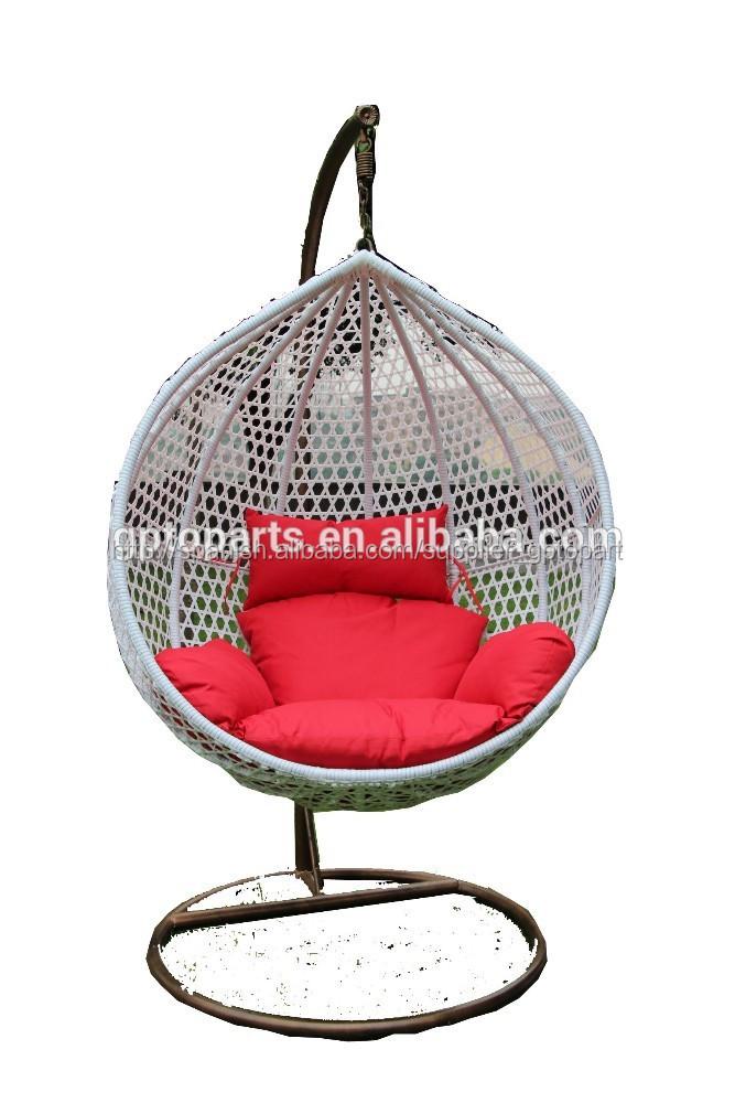 Huevo sill n de mimbre super bien dise ado silla colgante for Silla huevo colgante