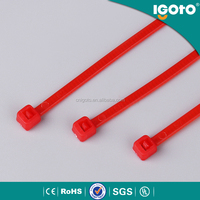Igoto SGS ROHS CE UL approved self locking cable tie tag