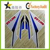 Factory wholesale decorative racing bike stickers or motors racing sticker , motocross stickers