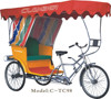 china Pedicab triciclo per adulti three wheel bike taxi/tricycle rickshaw