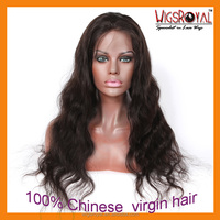 "22"" China wholesale cheap high ponytail full lace wig"