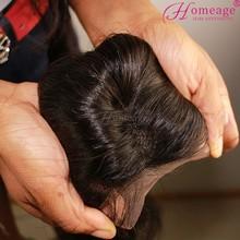 homeage wavy human weaving full lace frontal closures virgin hair closures