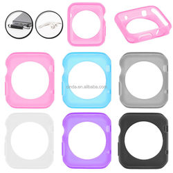 Silicone TPU Gel Case Cover Skin for APPLE WATCH 38mm