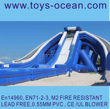 2015 New design arrival! Inflatable triple hippo water slides,inflatable new design hippo slides,largest inflatable water slide