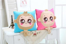 FACTORY DIRECTLY!! long lasting short plush cushion pillow for promotion