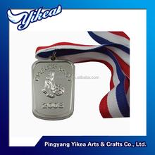 Factory price custom football winner metal medals