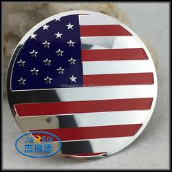 American Flag Sticker Thanks Letter Car Emblem