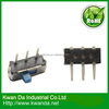 SMT Mini Slide Switch with 0.3A at 6V DC Rating, Apply to Electronic Products