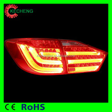 2014 Directly sale Automotive Light tail lamp 2010/2012 year for Toyota camary led rear tail lamp tail lights