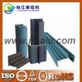 Todo tipo de tratamiento de superficies de perfil de aluminio para ventanas y puertas