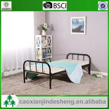 2015 Cheap metal bed frame fabrication small single bed frames