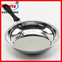 2014 Popular color nonstick fry pan grill fry pan with handle