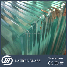 High quality curved heat soak toughened tempered glass for building with EN CE BS ISO certified