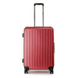 360 degree rotational wheels colorful girls travel luggage