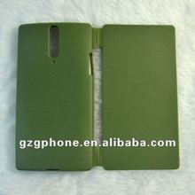 flip cover mobile phone accessory for sony LT26i XPERIA S case