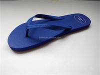 blue rubber flip flops wholesale cheap beach slipper