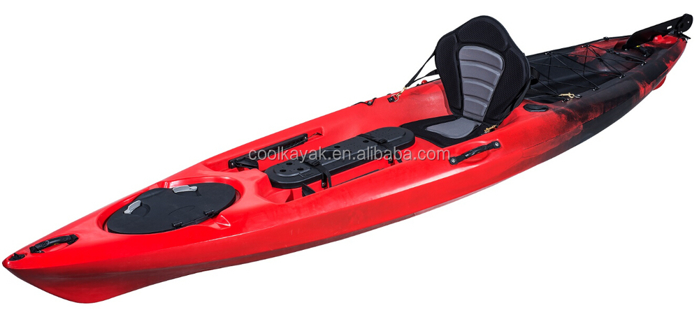 12 Ft Fishing Boat Dace Pro Angler Cool Kayak With Pedals