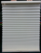 J.S.L off white Cordless pleated blinds