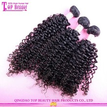 Best selling factory price and in stock jerry curl weave extensions human hair unprocessed jerry curl human hair for braiding