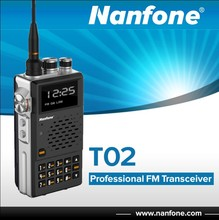 NANFONE T02 radio transceiver handheld hf ssb transceiver radio transceiver
