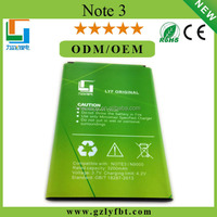 High Quality Gb t18287-2000 Lithium Ion Battery For Samsung Galaxy Note3 N9300