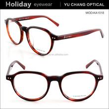Italy design eyeglasses frame factory, acetate material glasses frame eyewear manufacturer