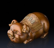 Creative arts and crafts prosperous wealth furnishing articles with a lucky copper and pigs